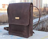 Кожаная сумка ручной работы Мен