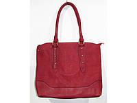 Красная сумка 2 в 1. Большая сумка + клатч