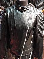 Женская куртка косуха кожзам
