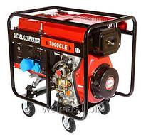 Дизельный генератор WM7000CLE 7,0 Квт 1 фаза цилиндр съемный, двиг. WM188FBE - 12л.с.