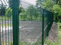 """Панельный забор из сварной сетки """"Рубеж"""" 3х4мм; 2,50мх1,0м"""