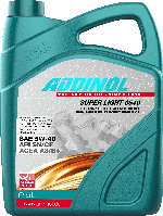 ADDINOL (5W-40) SUPER LIGHT 0540 5л канистра