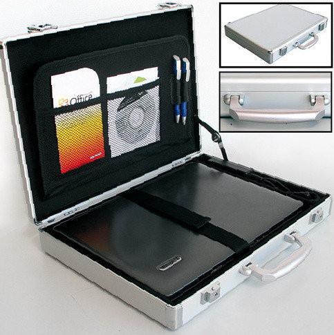 """Надежный VIP-кейс из алюминия для ноутбука 15"""" SAFE D-274"""