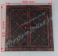 Дверка пекарская металлическая №3 450х450мм