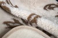 "Одеяло-плед из овечьей шерсти ""Eluna"""