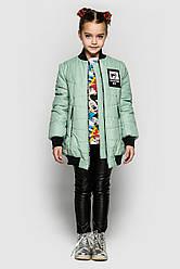 Модная и стильная демисезонная курточка - бомбер (макси) Разные цвета