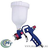 Краскопульт HP ВБ  600 мл, пластик, Ø 1,5 мм, 120-170 л/мин, 3-3,5 бар
