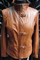 Стильная женская куртка из кожзама