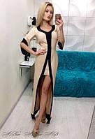 Женское длинное элегантное платье 88218