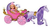 Кукла Ева Эви и сказочная карета с конем Simba 5735754