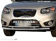 Защита бампера Hyundai Santa Fe 2010-2012