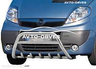 Защитный обвес переднего бампера на Opel Vivaro