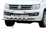 Защитная дуга передняя на VW Amarok Эксклюзив!