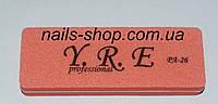 Баф для ногтей YRE мини  (цвета в ассортименте)