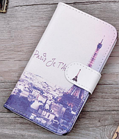 Кожаный чехол-книжка для Nokia Lumia 535