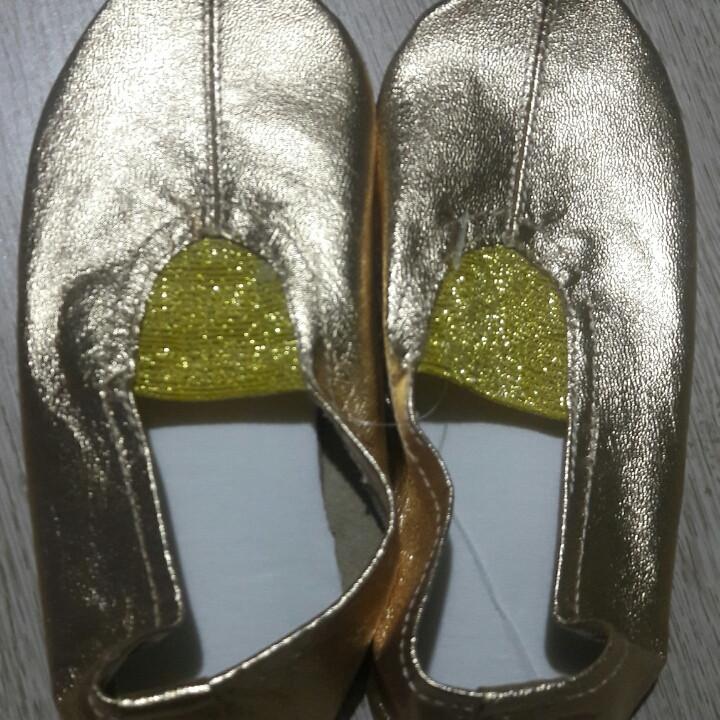 594faea1 Чешки танцевальные гимнастические кожаные золотые 21.5см, серебряные  14-15см, розовые 21см