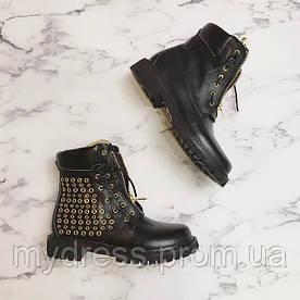 Ботинки Balmain натуральная кожа LUX