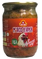 Мясо курицы в собственном соку