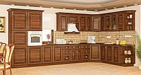 Франческа кухня модульная Мебель-Сервис угловая 4300*2400 мм