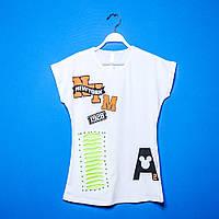 Детские футболки для девочек 9-13 лет, Нарядные футболки для девочек