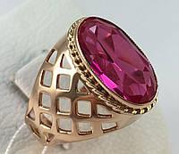 Кольцо с рубином,золото 583 пробы СССР
