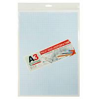 """Масштабно-координатная бумага для черчения А3, 10 листов, """"Рюкзачек"""" УП-176, 891815"""
