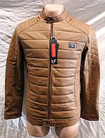 Куртка мужская,купить куртку мужскую со  склада оптом,весна,искусственная кожа,MT 1840 1/2 MK- 0004