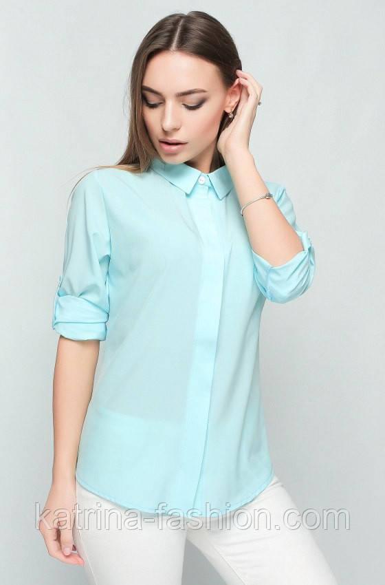 Женская модная блуза-рубашка (4 цвета)