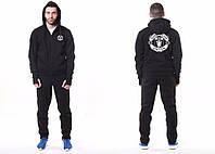 Спортивный костюм Манчестер Юнайтед, MU, Nike, Найк, большое лого, с капюшоном, черный, ф4781