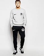 Спортивный костюм сборной Германии, Germany, Adidas, Адидас, серо-черный, ф4804