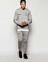Спортивный костюм Манчестер Сити, MC, Nike, Найк, полностью серый, ф4863