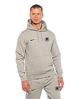 Спортивный костюм сборной Германии, Germany, Adidas, Адидас, серый, с капюшоном, ф4883