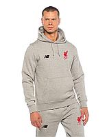 Спортивный костюм NB-Liverpool, Ливерпуль, Нью Беленс, серый, с капюшоном, ф4888