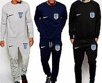 Спортивный костюм Англии, England, Nike, Найк, серый, синий, черный, ф4901
