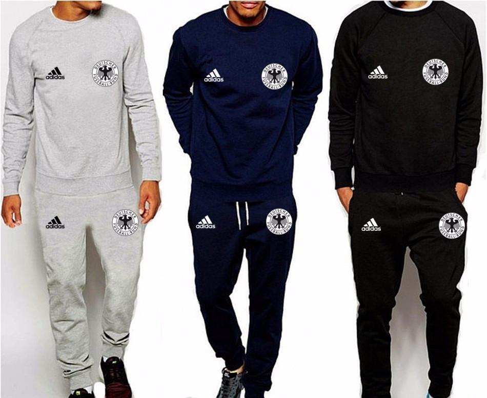 f311d0a226ed Спортивный костюм сборной Германии, Germany, Adidas, Адидас, серый, синий,  черный