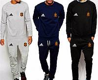 Спортивный костюм сборной Испании, Spain, Adidas, Адидас, серый, синий, черный, ф4913