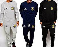 Спортивный костюм Сборной Украины, Адидас, Adidas, серый, синий, черный, ф4924