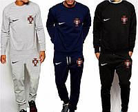 Спортивный костюм сборной Португалии, Portugal, Nike, Найк, серый, синий, черный, ф4920