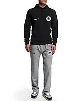 Спортивный костюм сборной Германии, Germany, Adidas, Адидас, черная кофта, серые штаны, ф4937