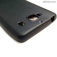 Силиконовый матовый чехол для Xiaomi Redmi 2 (чёрный)