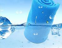 Полотенце охлаждающее для спорта и лета Blue 100*30 см , фото 1