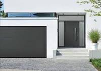 Ворота гаражные секционные RenoMatic light 2017 Hörmann (Германия) Woodgrain 5000х2250