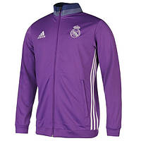 Спортивная олимпийка (кофта) Реал Мадрид,  Real Madrid, фиолетовая, ф4959