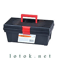 Ящик для инструмента 310х165х130 мм, пластик, цвет чёрный