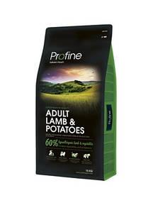 Profine Adult Lamb & Potatoes - корм для собак всех пород (ягненок), 15 кг