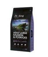 Profine Adult Salmon & Potatoes - корм для собак всех пород (лосось/картофель), 15 кг