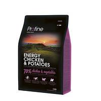 Profine Energy Chicken & Potatoes - корм для собак с повышенной нагрузкой, 3 кг