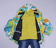 Демисезонная куртка плюс флисовая жилетка Tangnidika 120, 130, 140, 150, 160