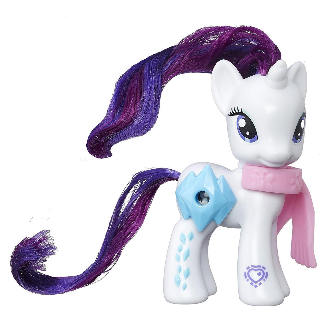 My Little Pony Пони Рарити с волшебной картинкой Explore Equestria Magical Scenes Rarity