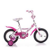 """Детский двухколесный велосипед Azimut Kathy -12"""" , розовый"""